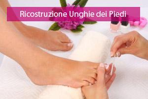 Ricostruzione unghie piede