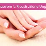 rimuovere ricostruzione unghie